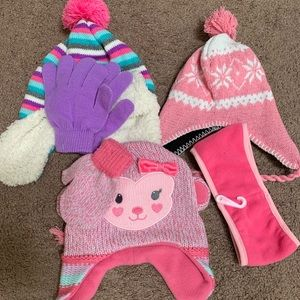 Girls Hat/Gloves